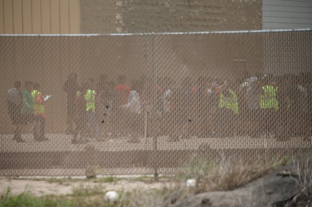centro de detección de inmigrantes en Texas (EEUU)