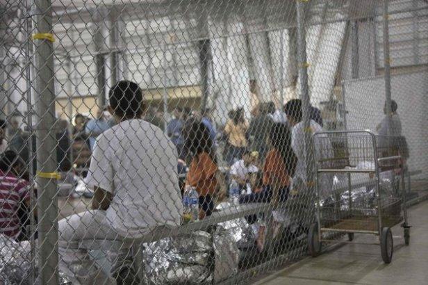 centro de detección de inmigrantes en EEUU