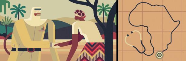 Blake-Cyrus-Magazine-Illustration-Africa-Ebola-Crisis-Shaking-Hands-Missionary-Owen-Davey_1000